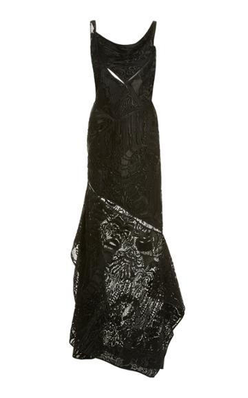 Moda Operandi Tom Ford Cutout Lace Gown
