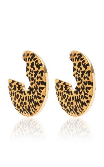 Moda Operandi Mignonne Gavigan Leopard Mega Hoop