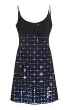 David Koma Flower Beads Mini Dress