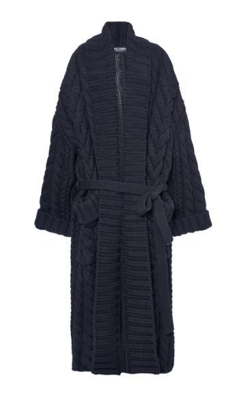 Moda Operandi Dolce & Gabbana Cable-knit Cardigan