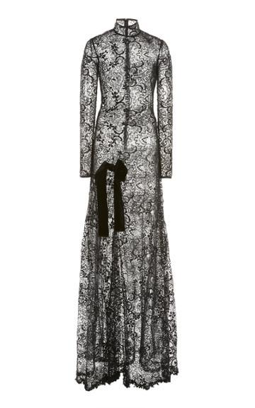 Moda Operandi Tom Ford Semi-sheer Lace Gown