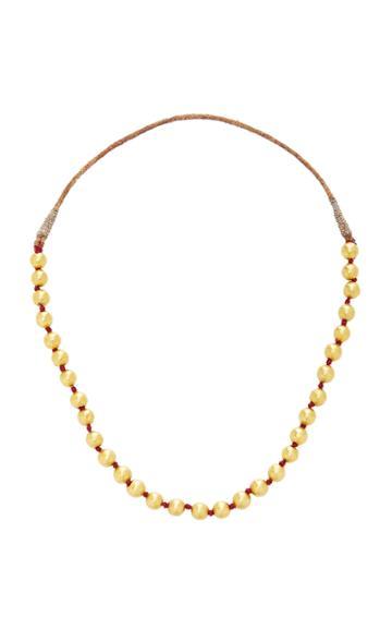 Ranjana Khan Antique Round Bead Necklace