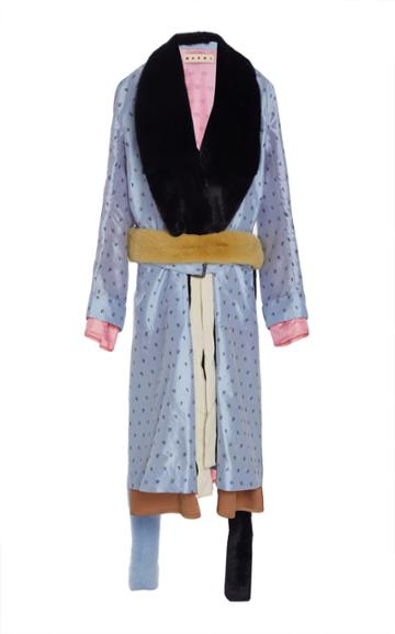 Marni Printed Duster Coat