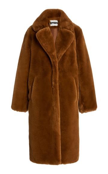 Apparis Siena Faux-fur Oversized Coat