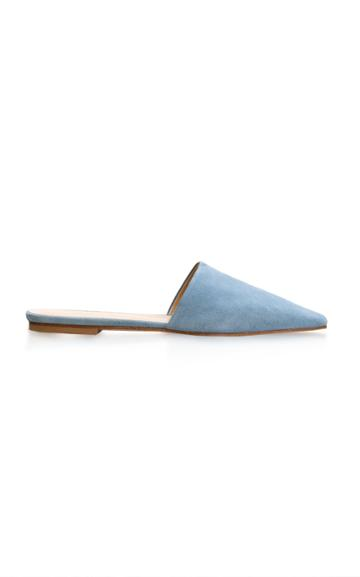 Aeyde Lea Pointed-toe Suede Mules
