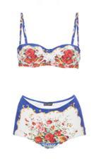 Dolce & Gabbana Printed Bikini Set
