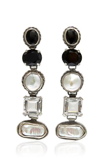 Sophie Buhai Firenze Medium Sterling Silver And Multi-stone Earrings