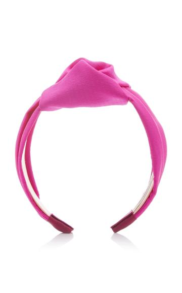 Jennifer Behr Samaya Silk-satin Headband