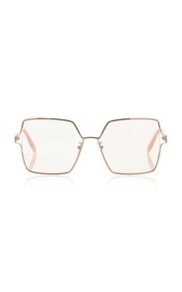 Alexander Mcqueen Oversize Square Sunglasses