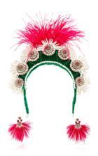 Magnetic Midnight X Ranjana Khan M'o Exclusive: Quetzal Headband & Earrings Set