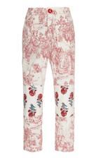 Moda Operandi Alix Of Bohemia Patti Patchwork Toile Straight-leg Jeans Size: S
