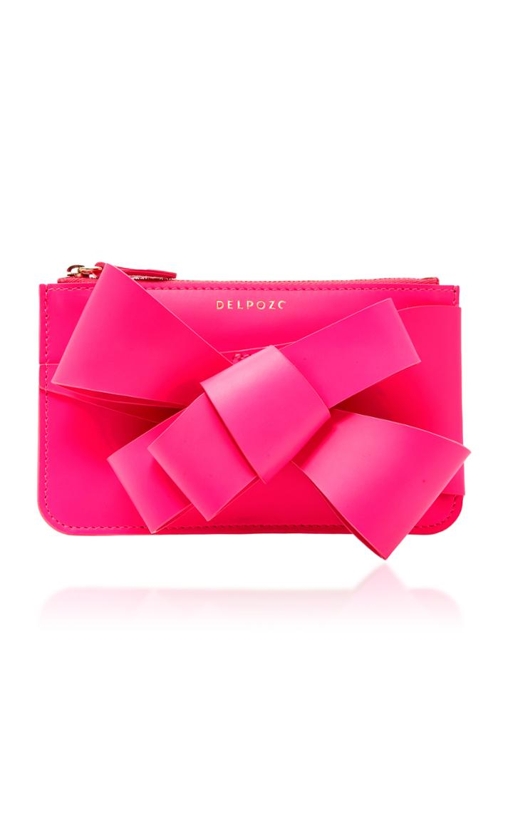 Delpozo M'o Exclusive Mini Bow Clutch