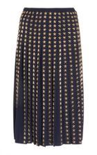 Moda Operandi Michael Kors Collection Stud-embellished Wool Skirt Size: 2