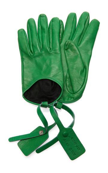 Off-white C/o Virgil Abloh Zip Tie Gloves