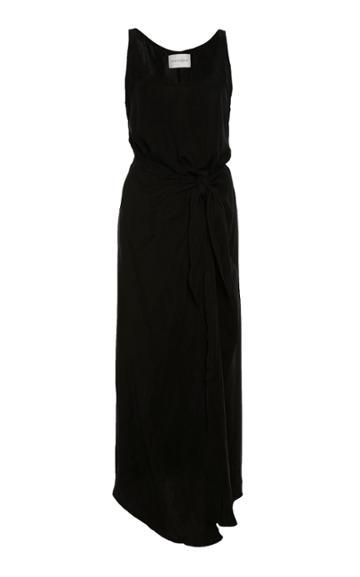 Anemone High-low Wrap Dress