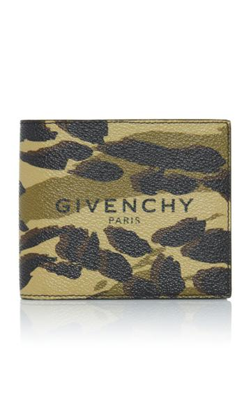 Givenchy Textured Camouflage Wallet
