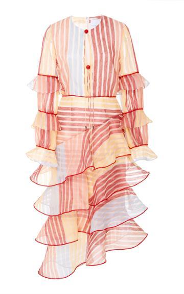 Markarian Taurus Ruffle Dress