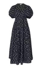 Cecilie Bahnsen Anna Cotton Midi Dress