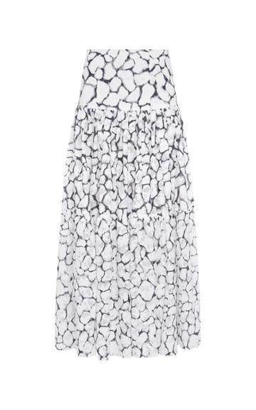 Aje Rebellion Lace Midi Skirt