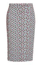 Rochas Flower Brocade Skirt