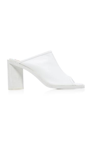 Acne Studios Open-toe Leather Mules