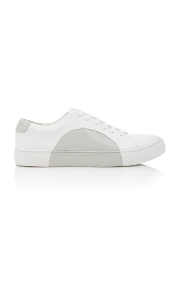 They New York Grey And White Circle Low Sneaker