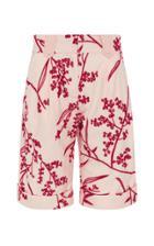 Aje Floral-print Cotton Shorts