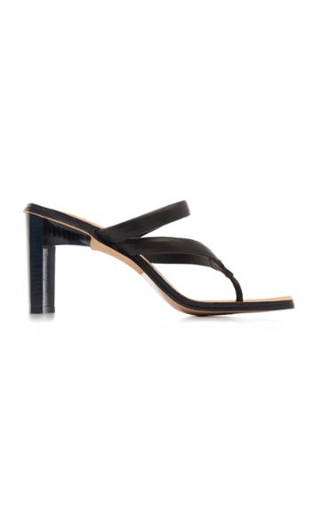 Miista Sebrina Leather Sandals