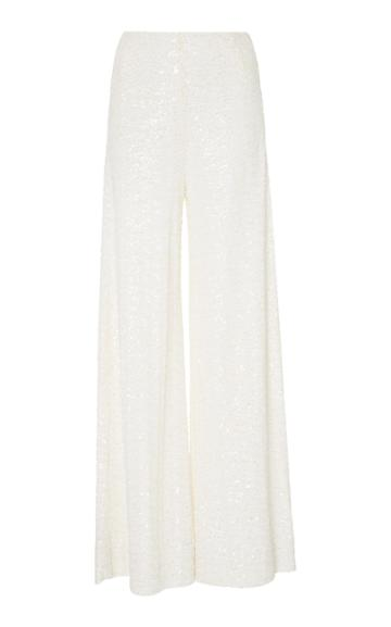 Semsem Wide Leg Sequin Pant