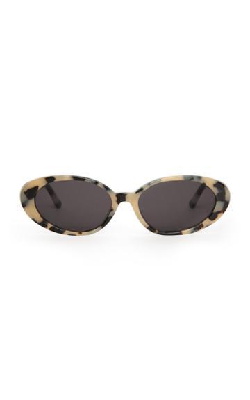 Velvet Canyon The Poet Round-frame Acetate Sunglasses