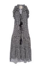 Figue Sleeveless Dot Print Dress