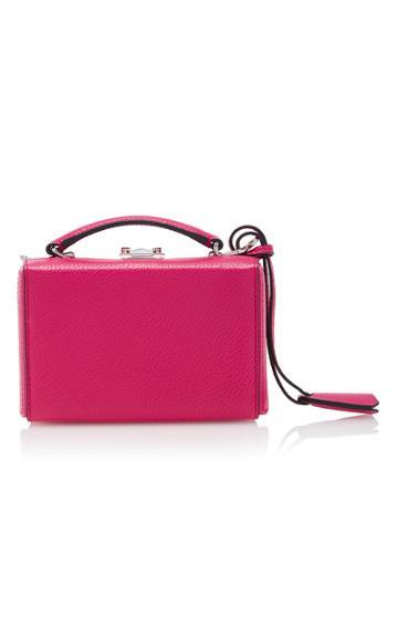Mark Cross Grace Mini Leather Box Bag