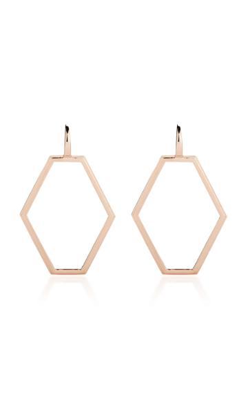 Walters Faith Keynes Medium 18k Rose Gold Earrings