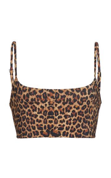 Anemone Leopard Tankini Top