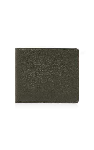 Maison Margiela Bi-fold Textured Leather Wallet