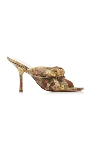 Moda Operandi Brock Collection Printed Leather Mules