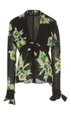 Proenza Schouler Front Tie Blouse