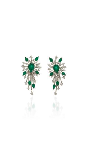 Hueb Luminus Emerald Earrings