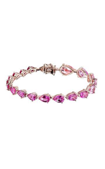 Moda Operandi Anabela Chan 18k Rose Gold Fuchsia Nova Bracelet