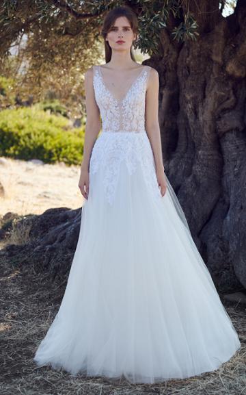 Moda Operandi Costarellos Ariadne Lace Embellished Gown