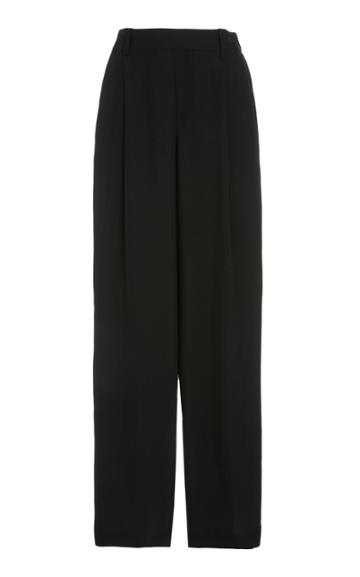 Vince Stretch Crepe Wide-leg Pants