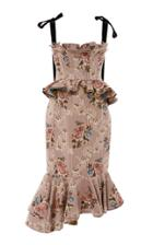Brock Collection Dylan Peplum Dress