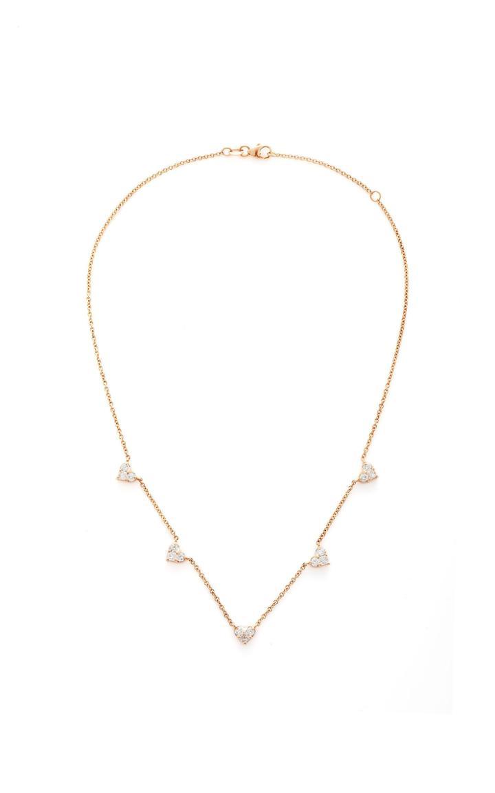 Shay 5 Heart Necklace