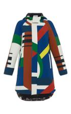 Parden's Abstract Ilanit Hooded Parka