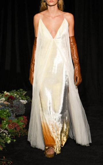 Moda Operandi Danielle Frankel Imogen Ombre Tulle Gown Size: 0