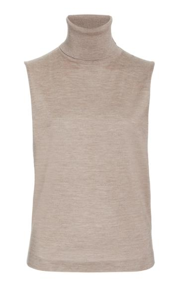 Moda Operandi The Row Becca Sleeveless Cashmere Silk Top