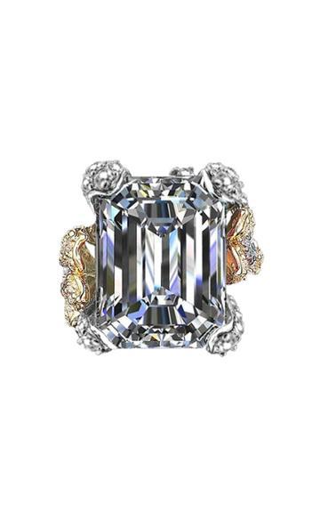Moda Operandi Anabela Chan 18k White Gold Diamond Cinderella Ring