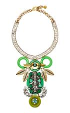 Lulu Frost One-of-a-kind Vintage 100 Year Green Necklace