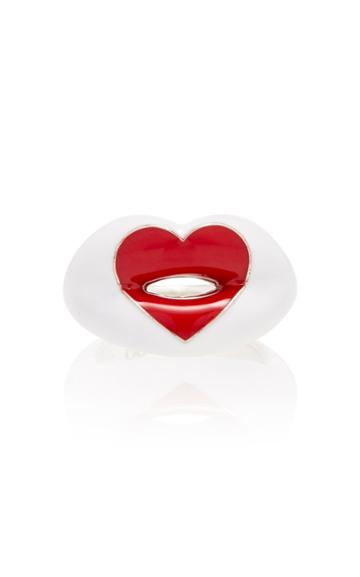 Hot Lips By Solange Love Heart Hotlips Ring