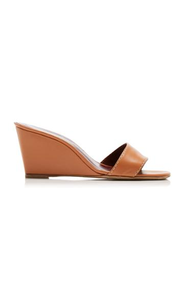 Moda Operandi Staud Billie Leathers Wedges Size: 35